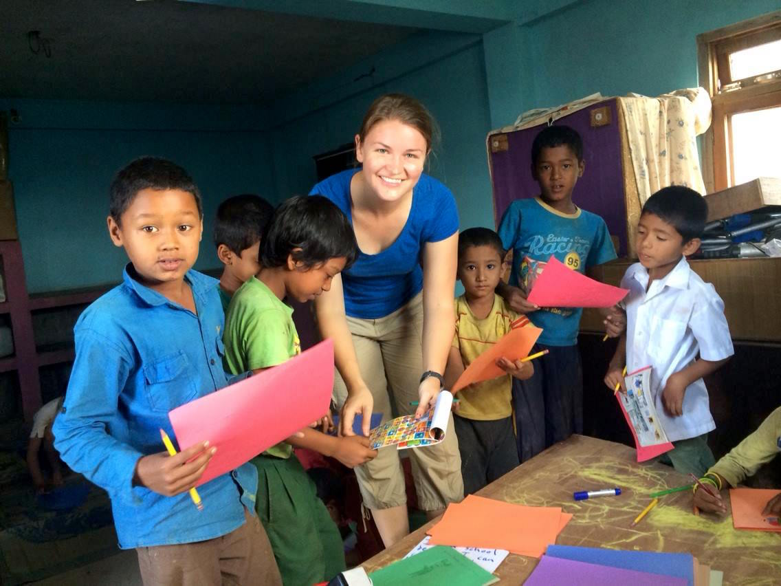 The Face of Volunteer Teaching in Nepal