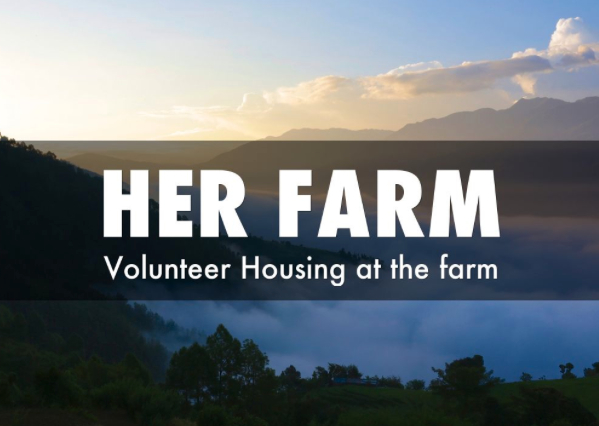 Volunteer in Nepal and Live at Her Farm [Presentation]