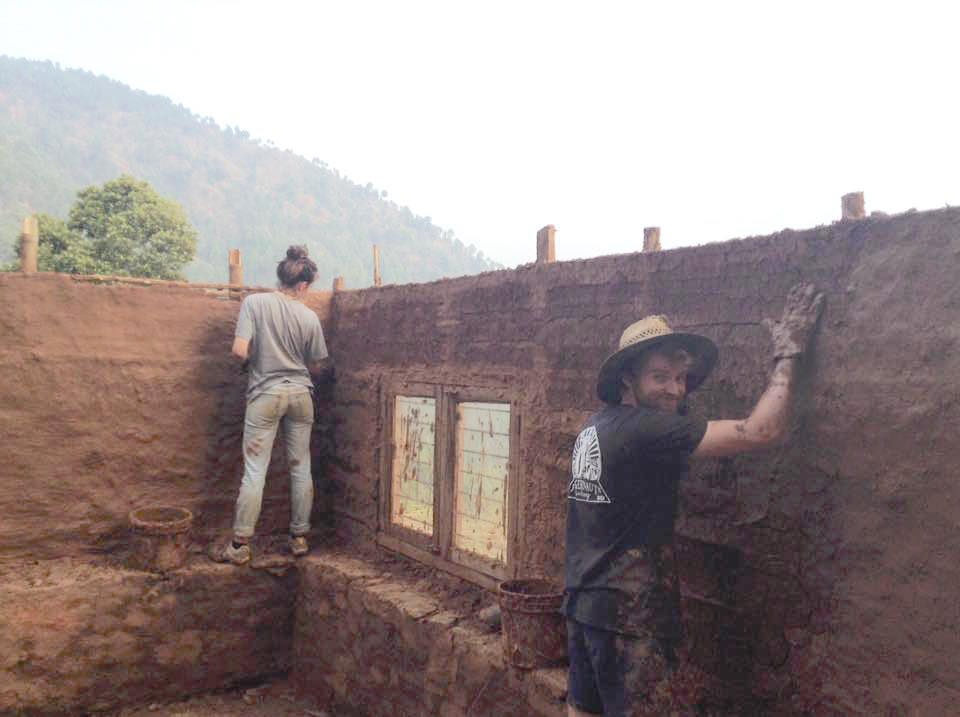 Volunteers Build Earthquake-Resistant Housing in Nepal